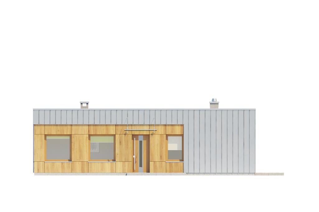 Projekt domu DM-6643 - elewacja