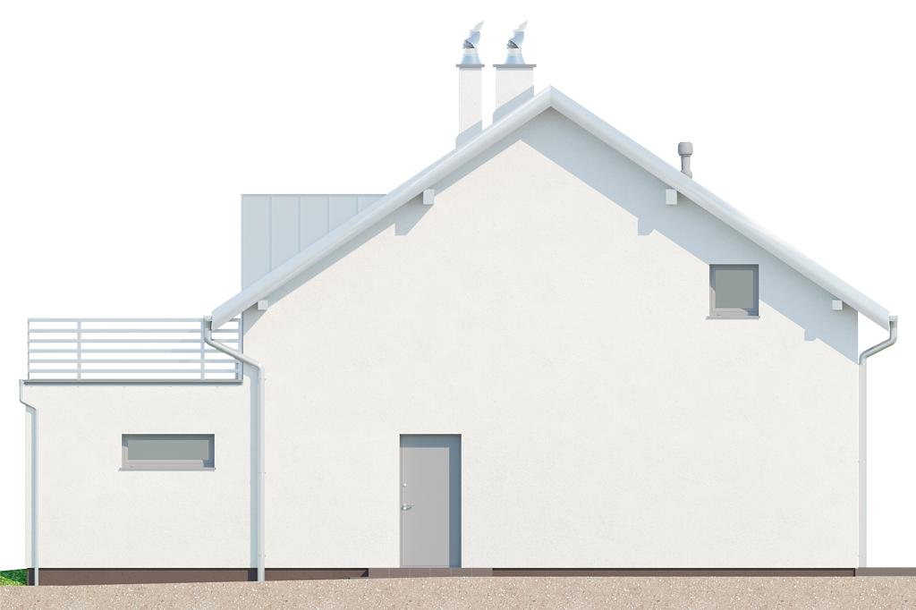 Projekt domu DM-6673 - elewacja