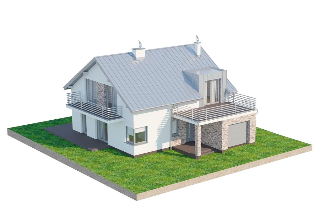 Projekt domu DM-6673 - model