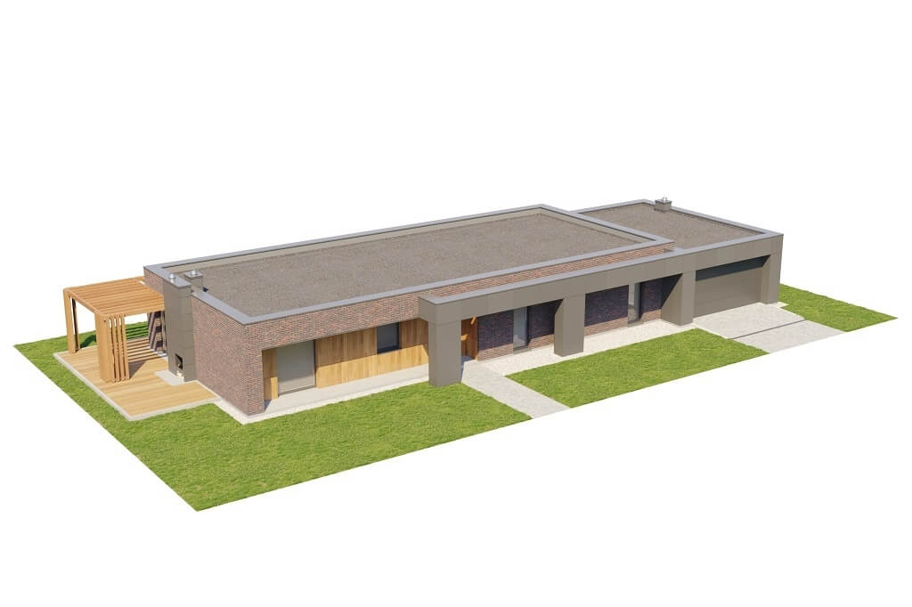 Projekt domu L-6688 - model