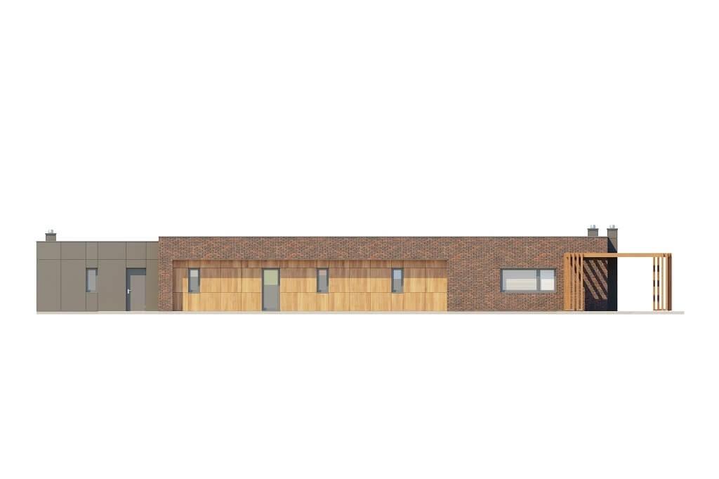 Projekt domu L-6688 - elewacja