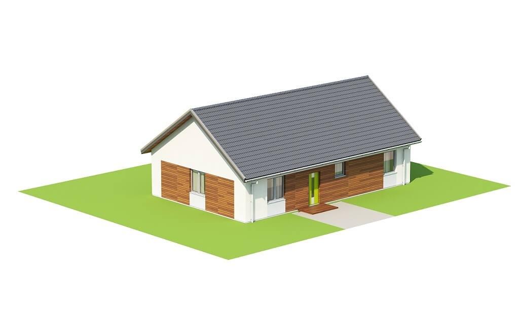 Projekt domu L-6691 - model