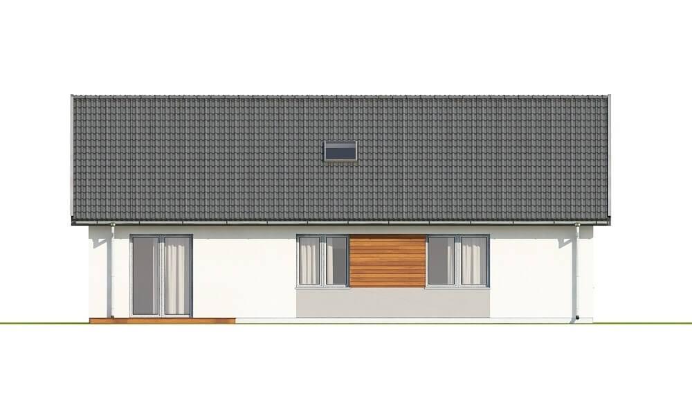 Projekt domu L-6691 - elewacja