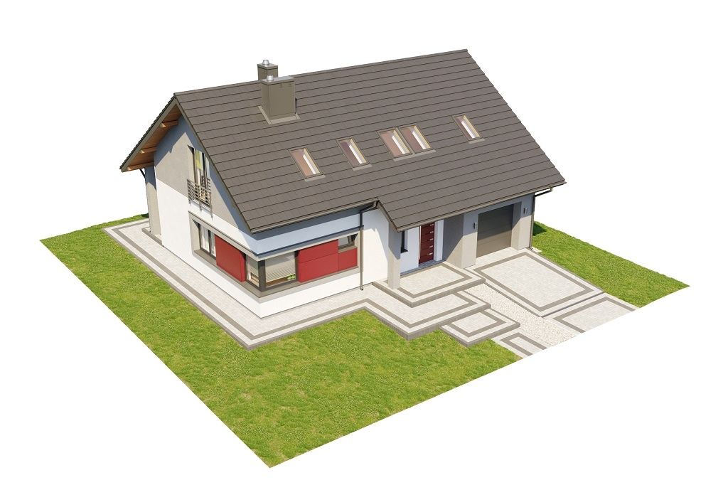 Projekt domu DM-6681 - model