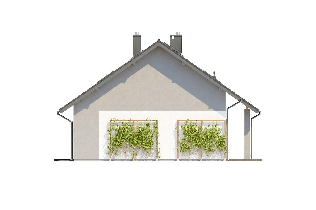 Projekt domu DM-6681 - elewacja
