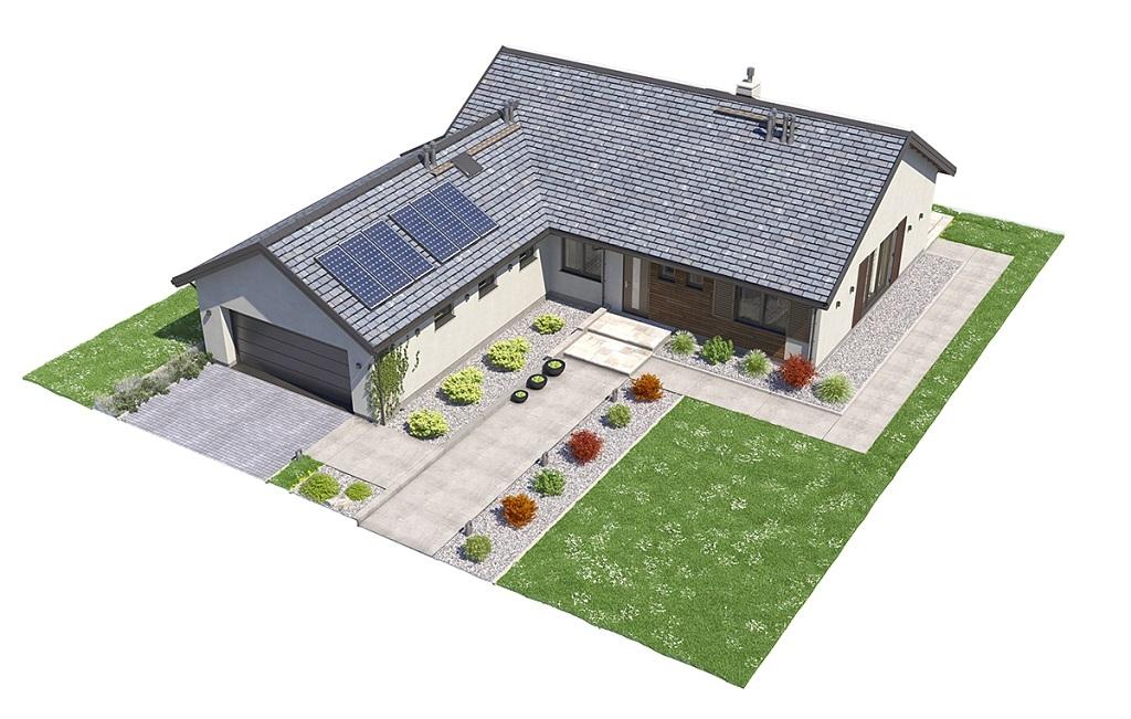 Projekt domu DM-6682 - model