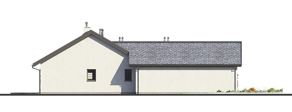Projekt domu DM-6682 - elewacja