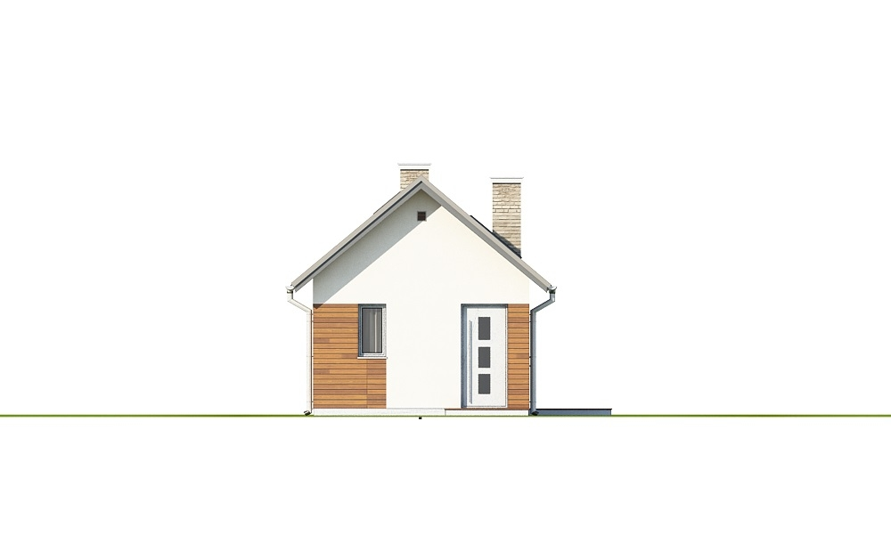 Projekt domu DM-6692 - elewacja