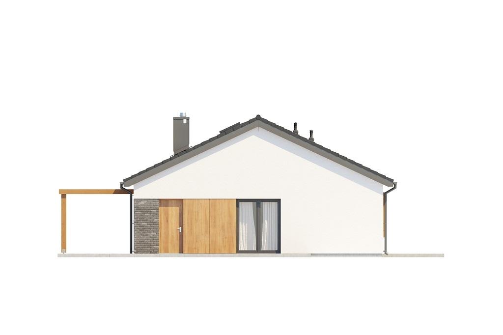 Projekt domu DM-6694 - elewacja