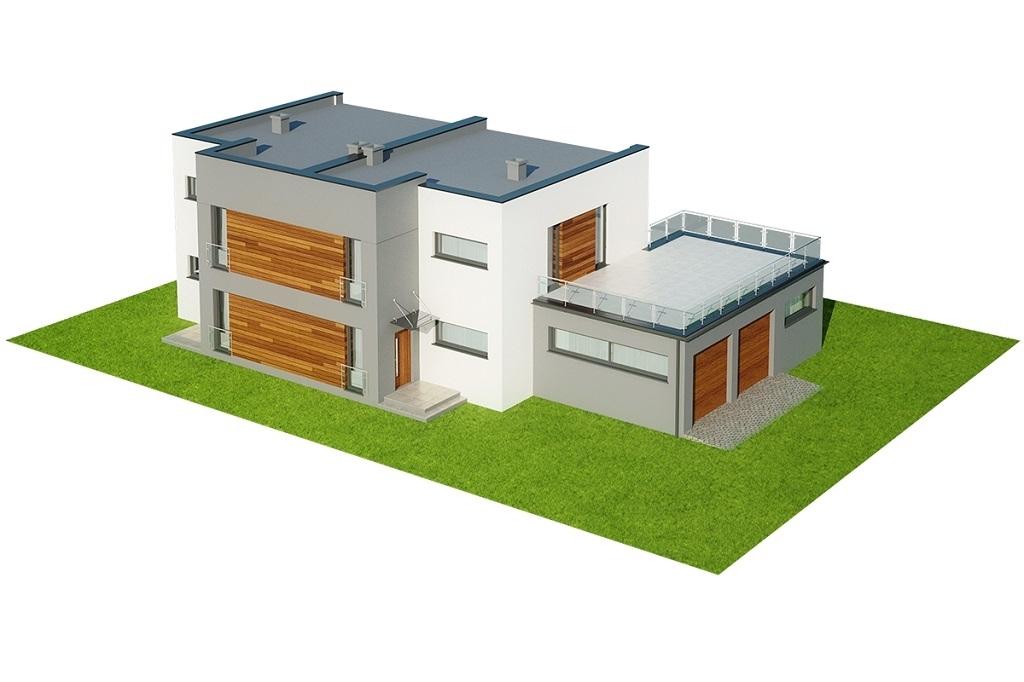 Projekt domu L-6680 - model