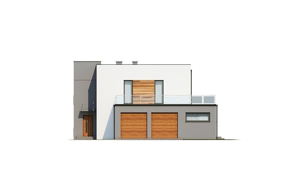 Projekt domu L-6680 - elewacja