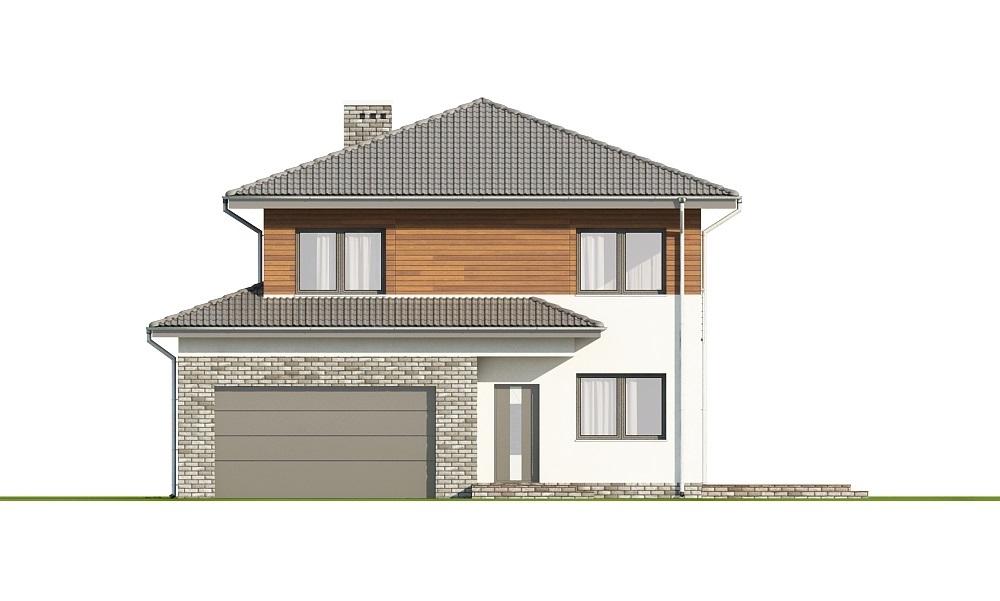 Projekt domu L-6679 - elewacja