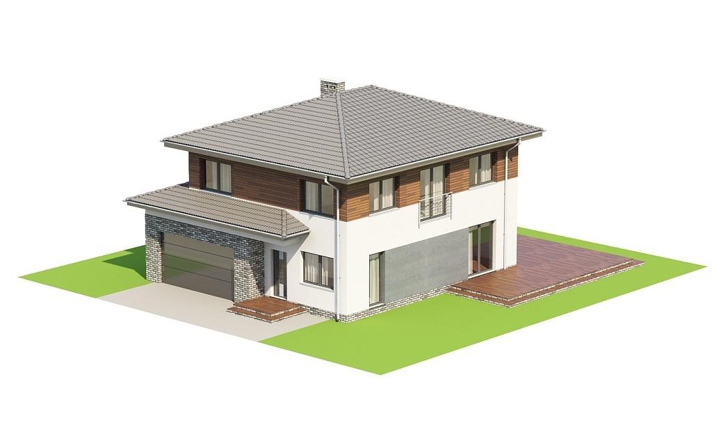 Projekt domu L-6679 - model
