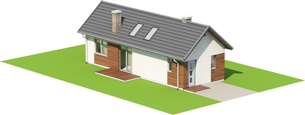 Projekt domu L-6692 - model