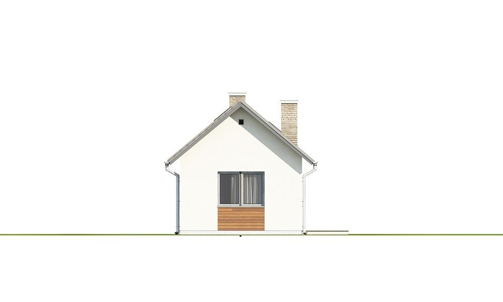 Projekt domu L-6692 - elewacja