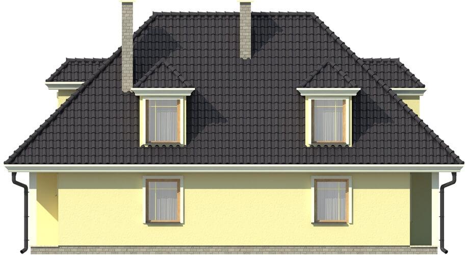 Projekt domu DM-5502 - elewacja