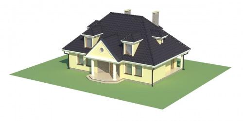 Projekt domu DM-5502 - model