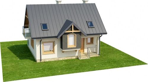 Projekt domu DM-6251 - model