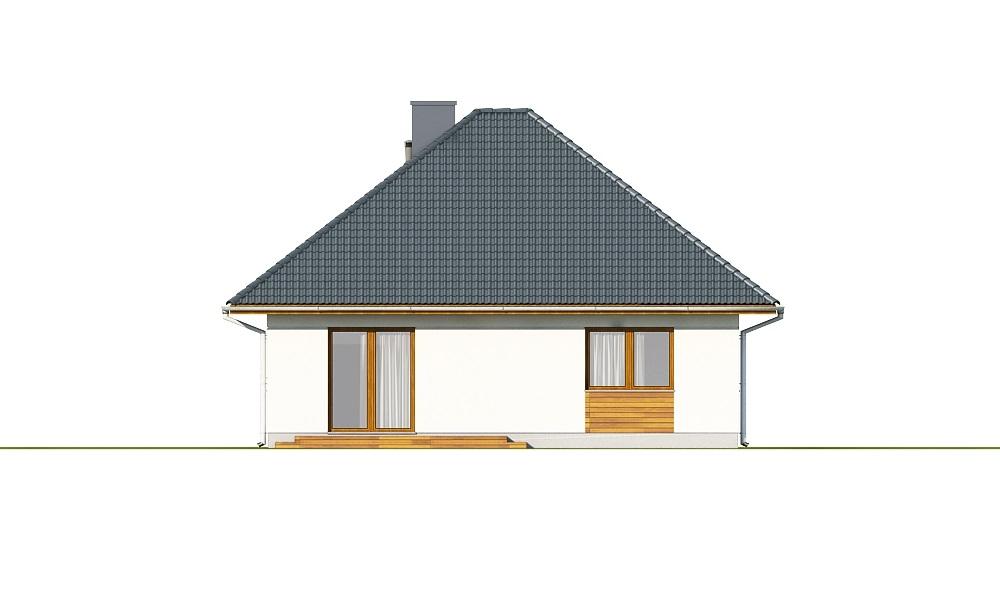 Projekt domu DM-6635 - elewacja