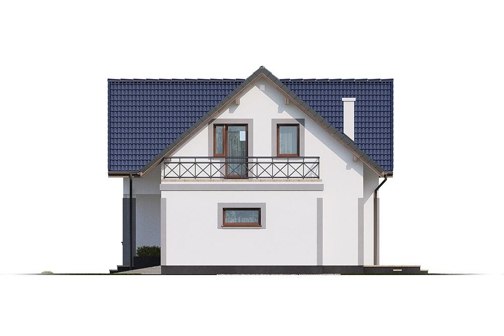 Projekt domu DM-6689 - elewacja