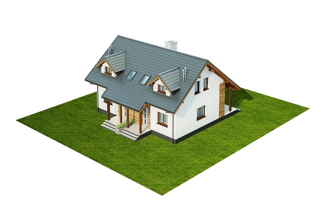 Projekt domu DM-6684 - model