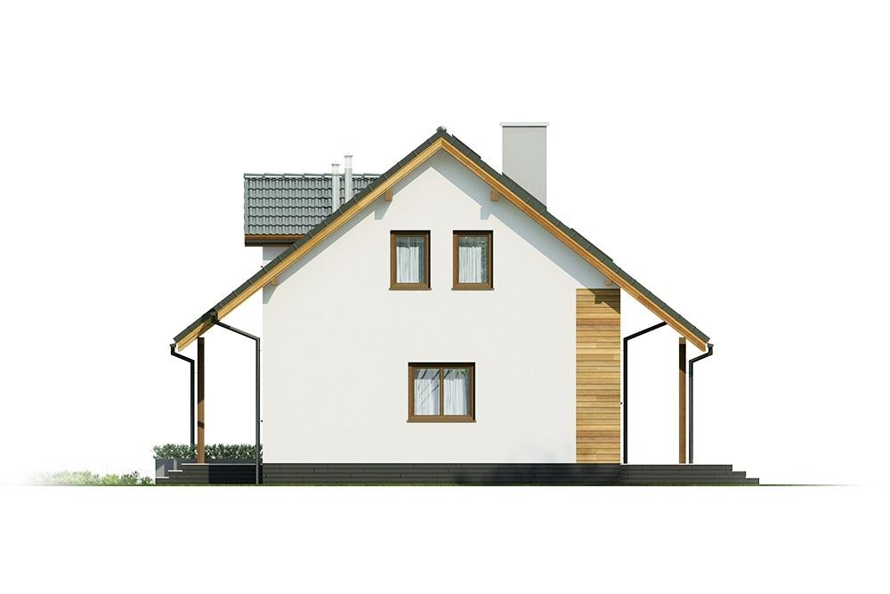 Projekt domu DM-6684 - elewacja