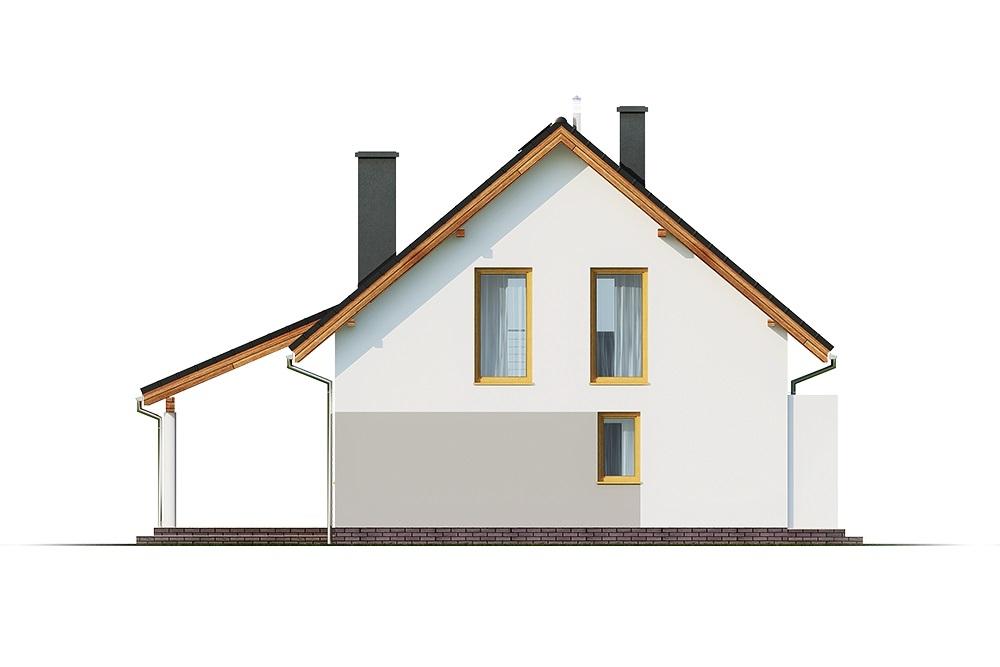 Projekt domu DM-6690 - elewacja