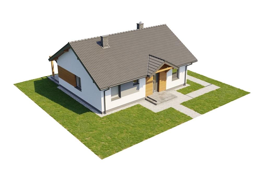 Projekt domu DM-6698 - model
