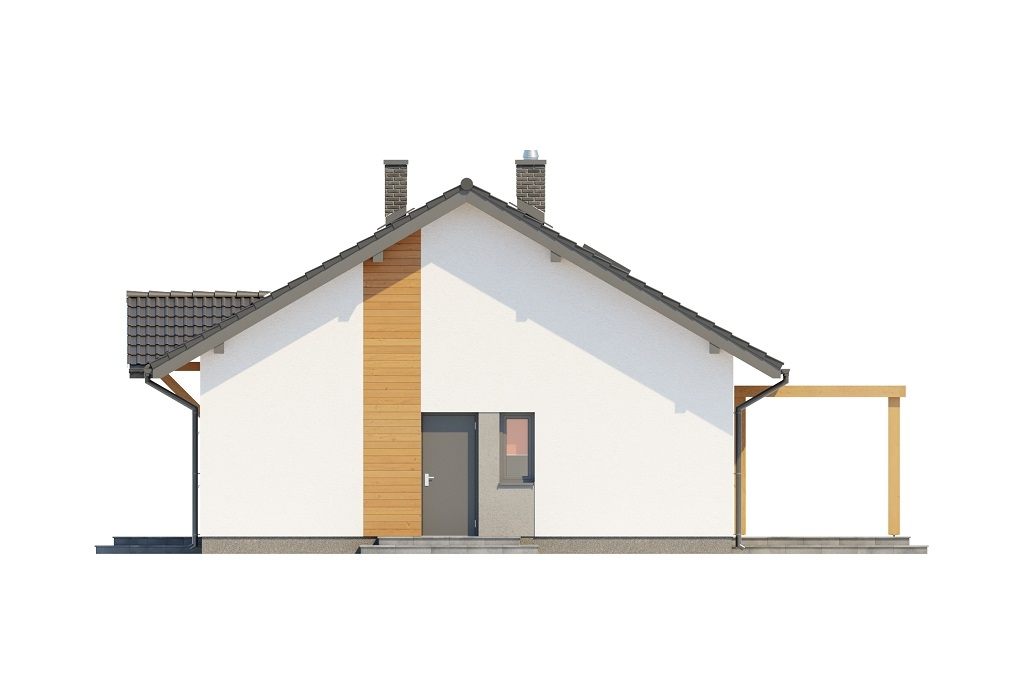Projekt domu DM-6698 - elewacja