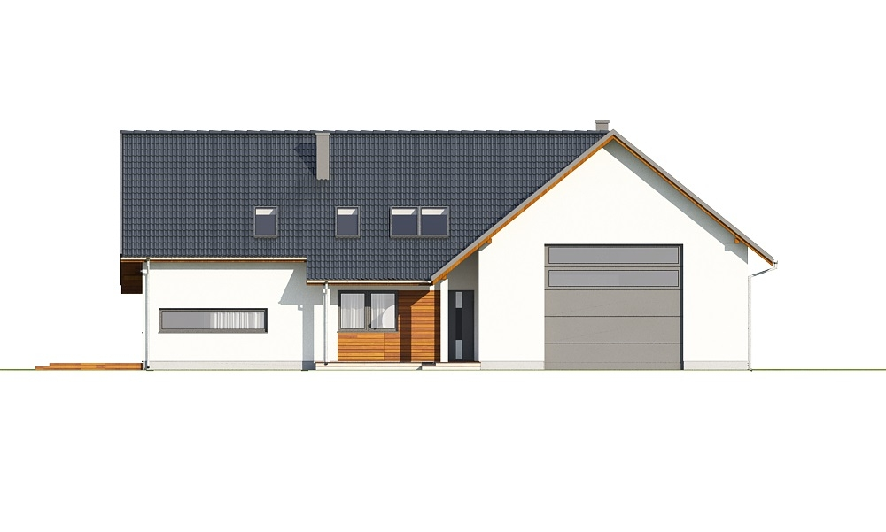 Projekt domu DM-6696 - elewacja