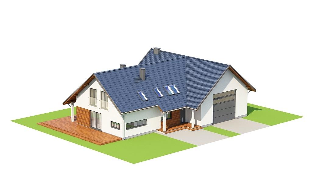 Projekt domu DM-6696 - model