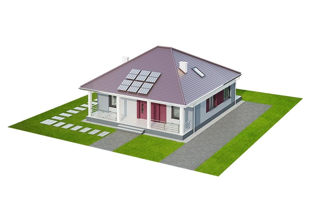 Projekt domu DM-6685 - model