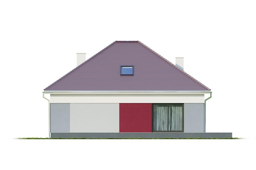 Projekt domu DM-6685 - elewacja