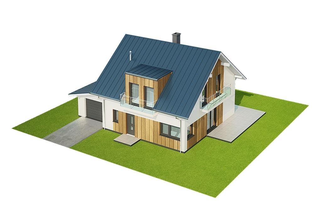 Projekt domu DM-6686 - model