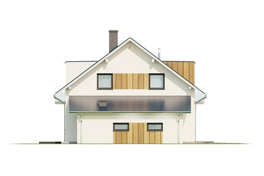 Projekt domu DM-6686 - elewacja