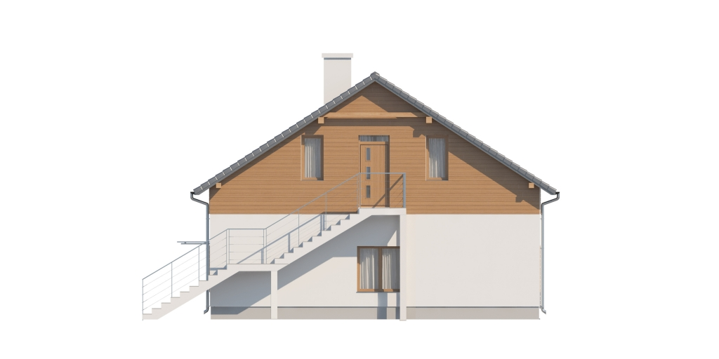 Projekt domu DM-6646 - elewacja