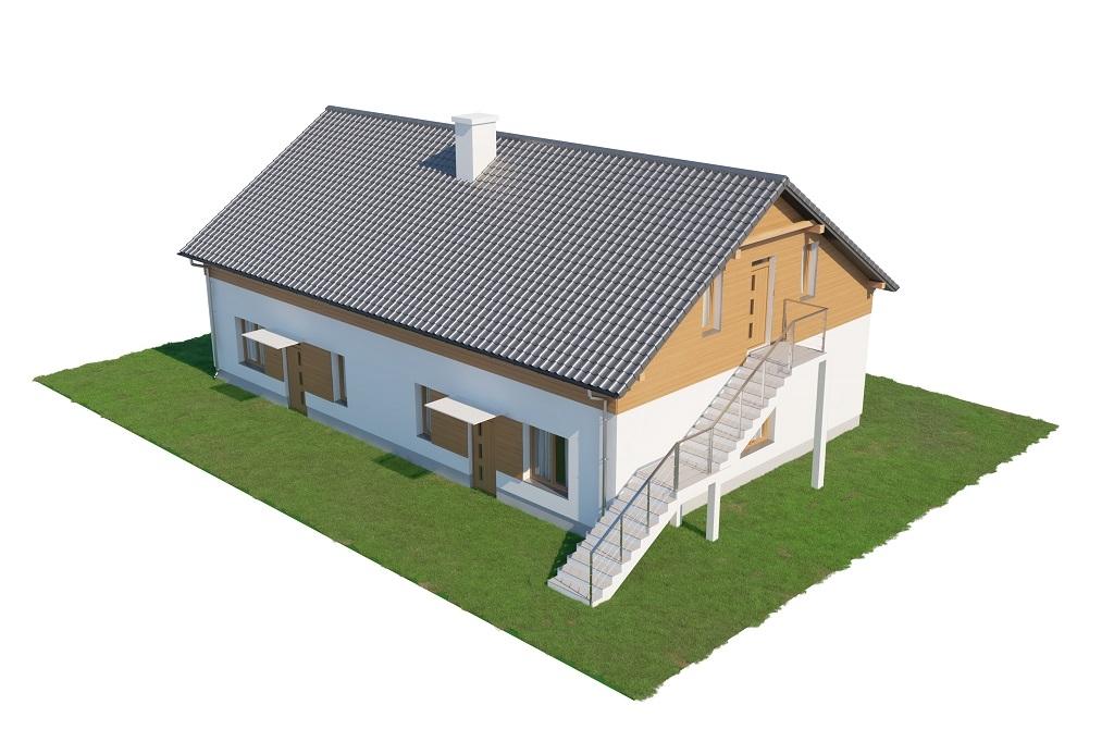 Projekt domu DM-6646 - model