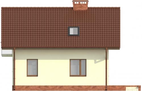 Projekt domu DM-6254 - elewacja