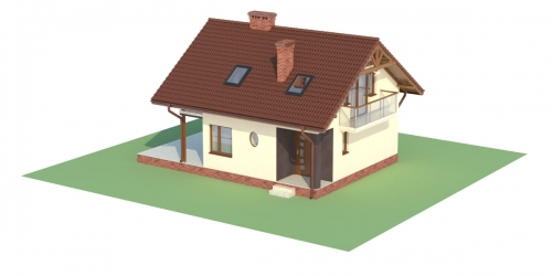 Projekt domu DM-6254 - model
