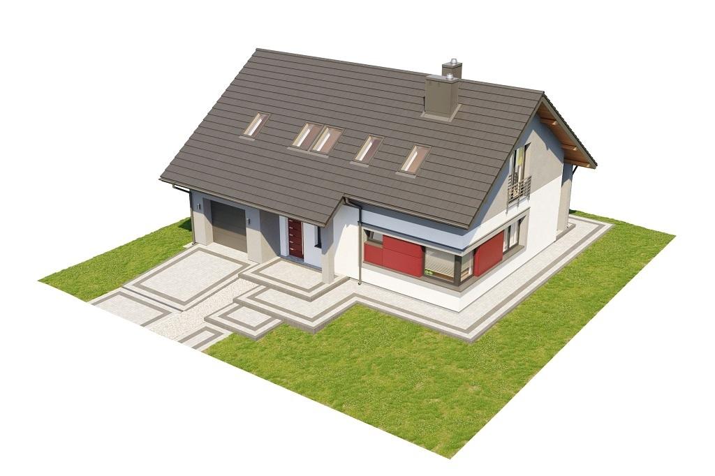 Projekt domu L-6681 - model