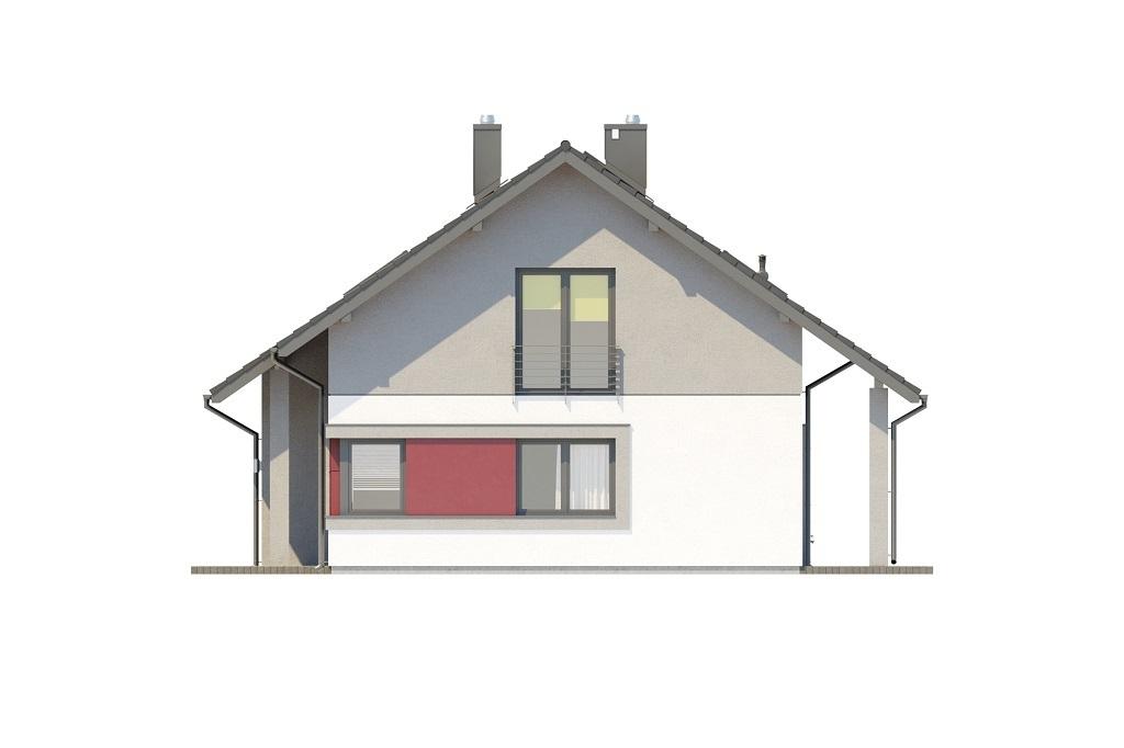Projekt domu L-6681 - elewacja
