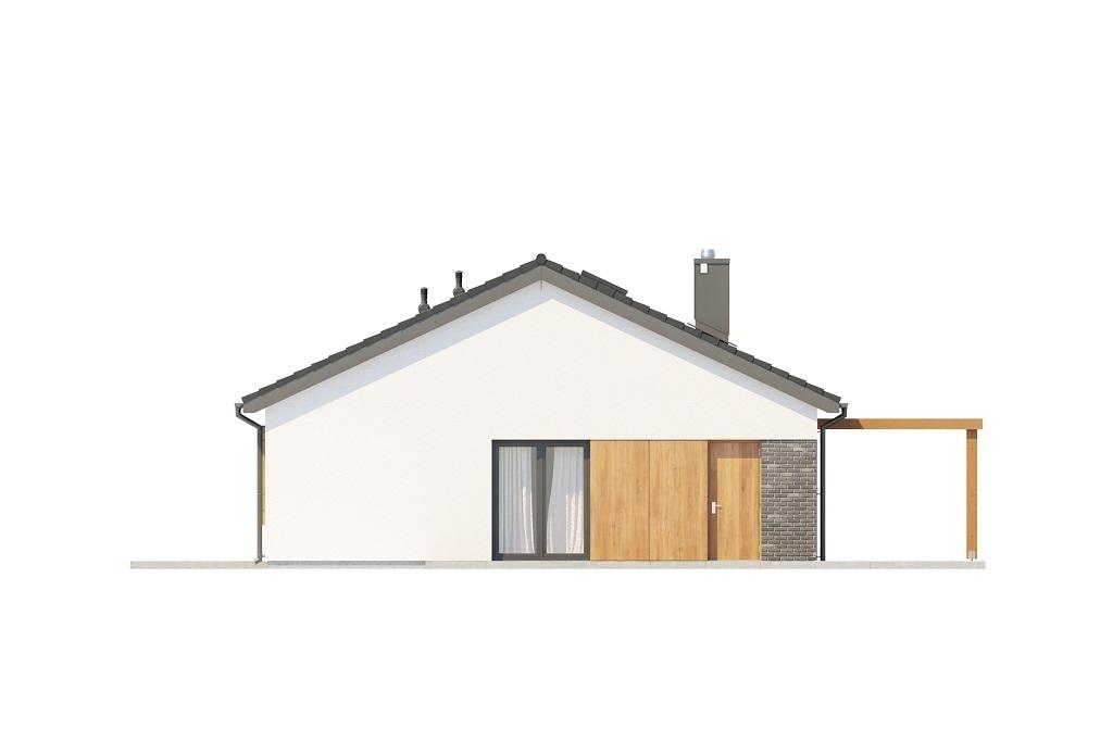 Projekt domu L-6694 - elewacja