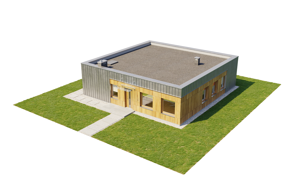Projekt domu L-6643 - model