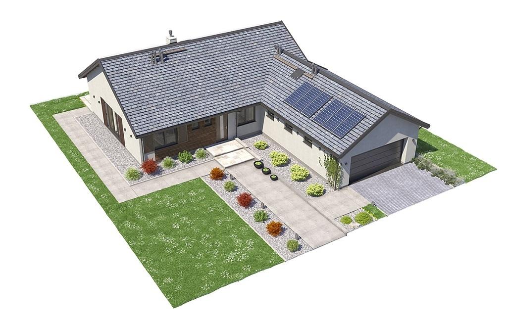 Projekt domu L-6682 - model