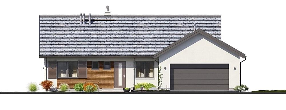 Projekt domu L-6682 - elewacja