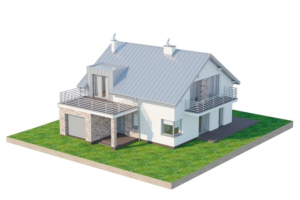 Projekt domu L-6673 - model