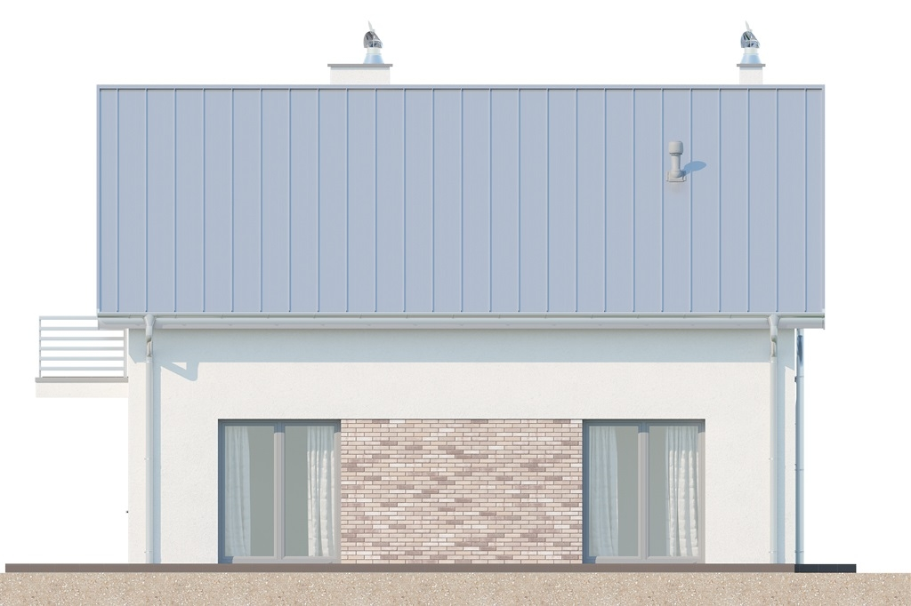 Projekt domu L-6673 - elewacja
