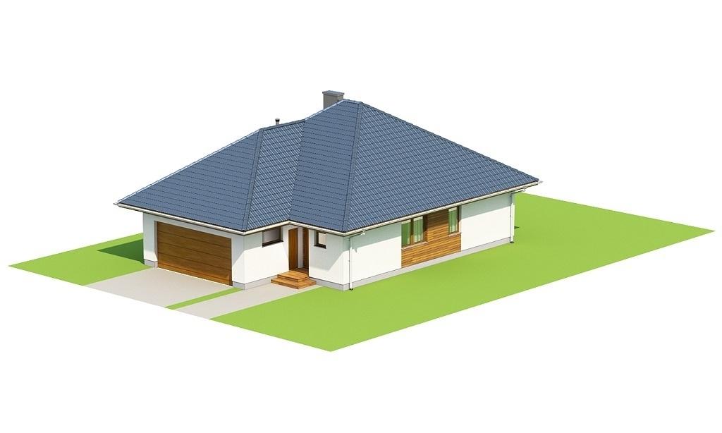 Projekt domu L-6635 - model