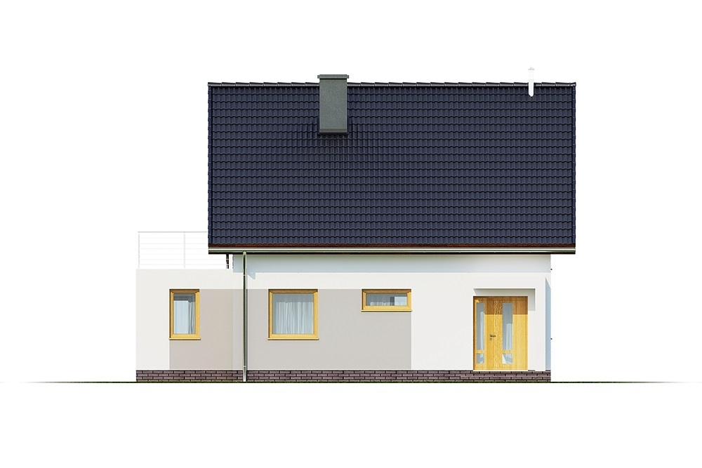 Projekt domu L-6690 - elewacja