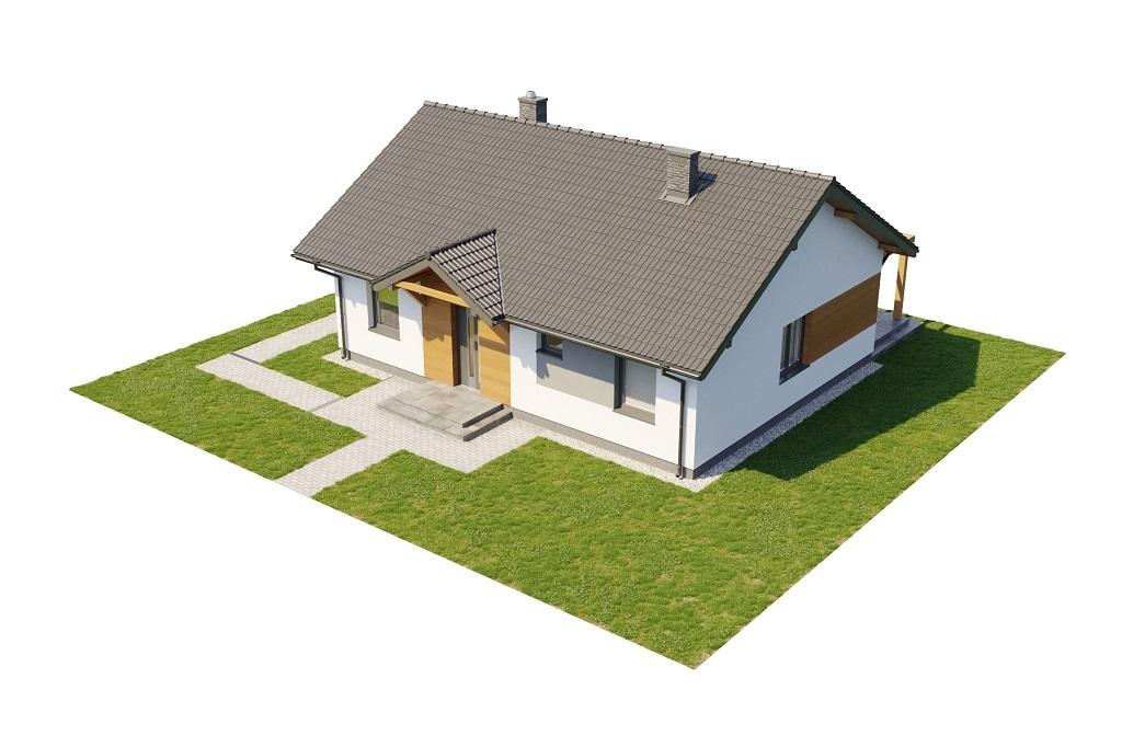 Projekt domu L-6698 - model